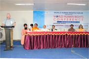 WHRF Director Mr.Richard Barklie inaugurates the World Human Rights Conference - Copy